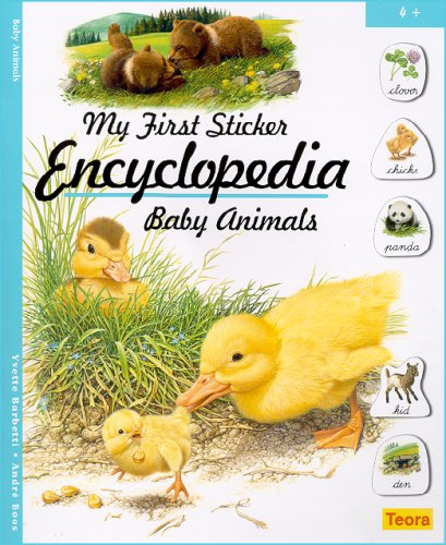 My First Sticker Encyclopedia - Baby Animals: n/a