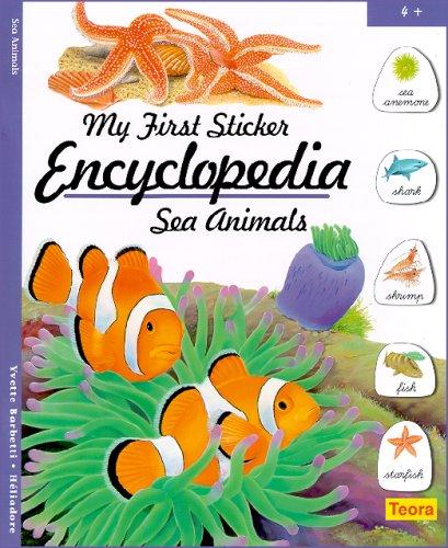 9781594961489: My First Sticker Encyclopedia - Sea Animals