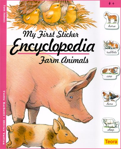 9781594961502: My First Sticker Encyclopedia - Farm Animals