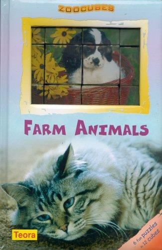 Zoo Cubes- Farm Animals