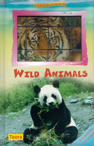 9781594961571: Zoo Cubes - Wild Animals