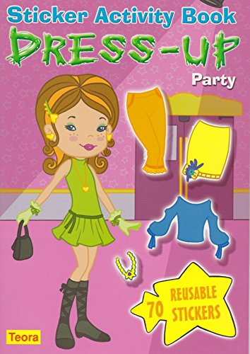 9781594961762: Dress-Up Party: Sticker Activity Book [With 70 Reusable Stickers] (Dress-Up Dolls)