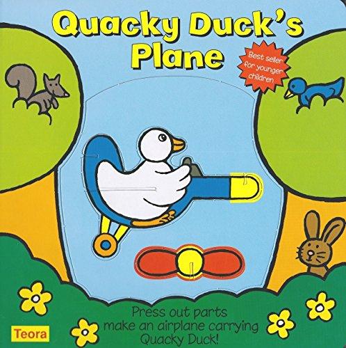 9781594961854: Quacky Duck's Plane: Press Out Parts Make an Airplane Carrying Quacky Duck! (Toddler Make and Play)