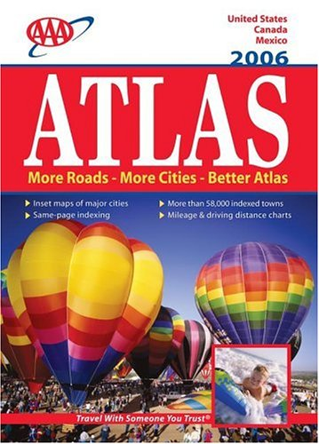 AAA North American Road Atlas 2006 (AAA Road Atlas): AAA