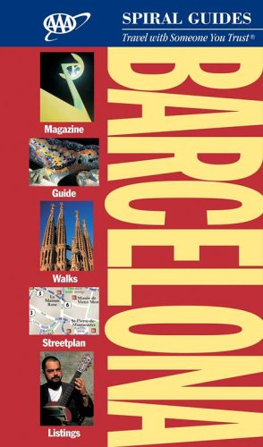 9781595081070: Barcelona Spiral Guide (AAA Spiral Guides)