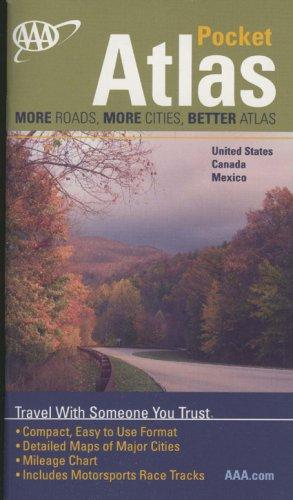9781595081612: AAA Pocket North American Road Atlas 2007