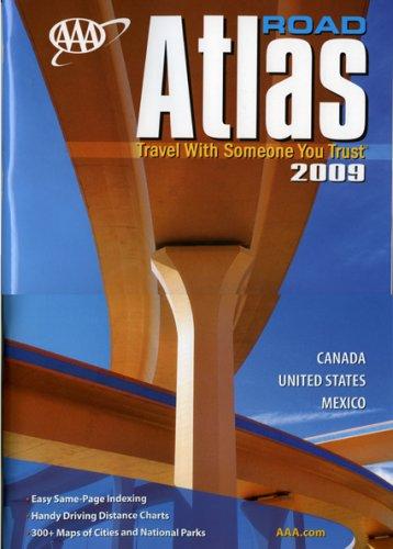 AAA Road Atlas 2009: AAA Publishing