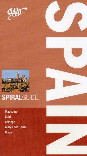 AAA Spiral Spain (AAA Spiral Guides: Spain): Roy, Sally; Quintero, Josephine