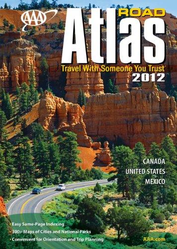 AAA Road Atlas 2012