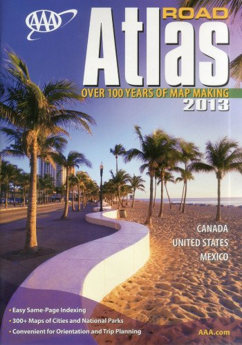 9781595085115: AAA Road Atlas 2013