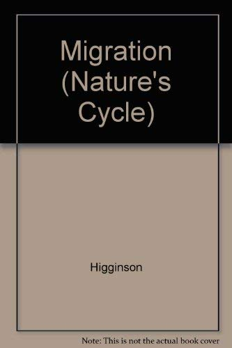 9781595155368: Migration (Nature's Cycle)