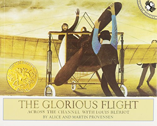 9781595190376: The Glorious Flight: Across the Channel with Louis Bleriot [With Paperback Book] (Live Oak Readalongs)