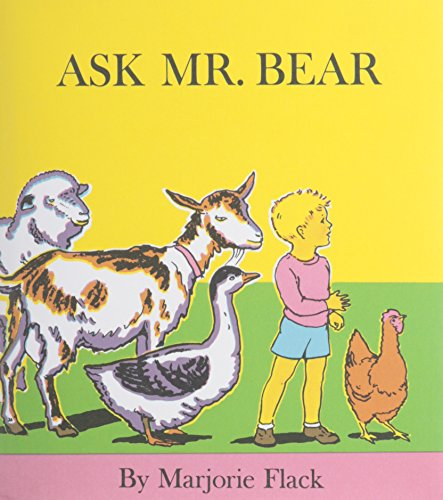 9781595192455: Ask Mr. Bear (1 Hardcover/1 CD) [With Hardcover Book]