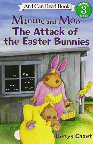 9781595194008: Minnie & Moo the Attack of the Easter Bunnies (Minnie and Moo (Live Oak Audio))