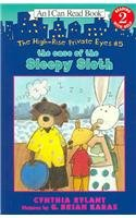 9781595194183: The Case of the Sleepy Sloth [With CD (Audio)] (High Rise Private Eyes)