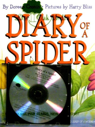9781595194862: Diary of a Spider (1 Hardcover/1 CD)