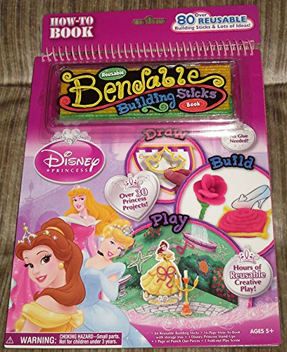9781595245731: Disney Princess Bendable Building Sticks Book