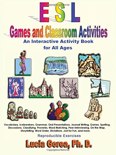 9781595260680: ESL Games and Classroom Activities: An Interactive Activity Book for All Ages