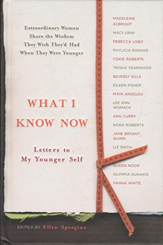 9781595301802: What I Know Now: Letters to My Younger Self