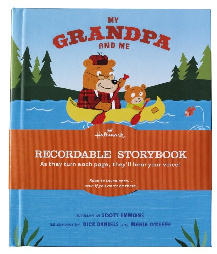 9781595302892: Hallmark's My Grandpa and Me Recordable Storybook by Scott Emmons (2010) Hardcover