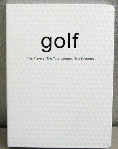 Hallmark Books BOK2110 Golf ~ The Players, The Tournaments, The Records: Carlo De Vito