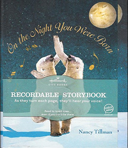 Hallmark Books - Hallmark Recordable Book On The Night You Were Born by Hallm.