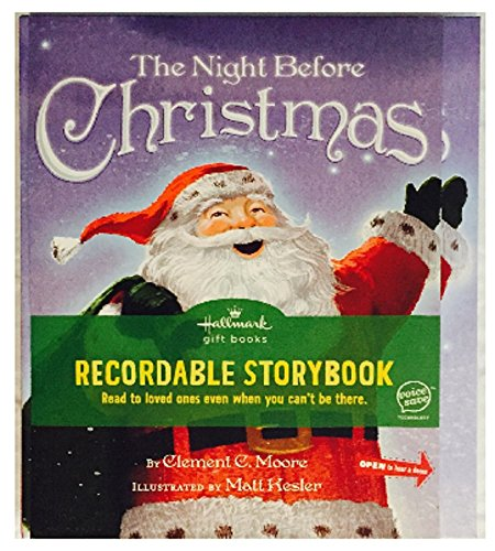 9781595304070: Hallmark the Night Before Christmas Recordable Board Book