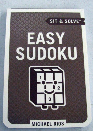 9781595304117: Sit and Solve Easy Sodoku Book