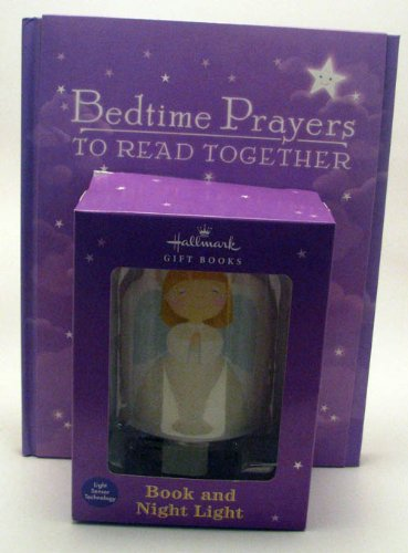 9781595304216: Hallmark Giftbooks BOK1185 Bedtime Prayers to Read Together with Angel Nightlight