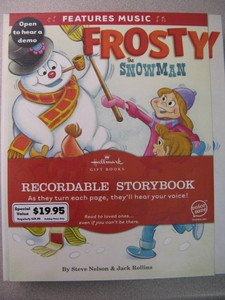 9781595304278: Hallmark Frosty the Snowman Recordable Book