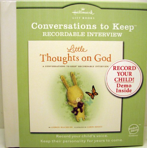 9781595304506: Conversations to Keep ~ Little Thoughts on God