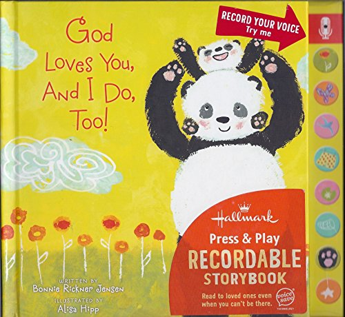9781595309334: Hallmark Press & Play Recordable Storybook - God Loves You, And I Do Too!