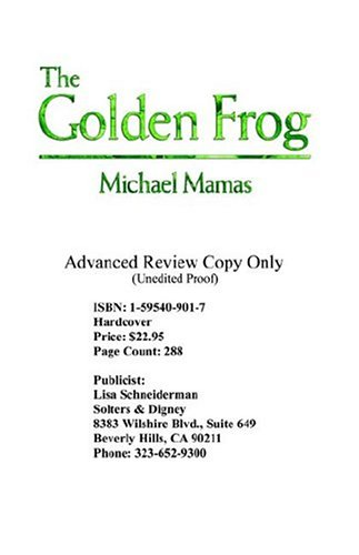 9781595409904: The Golden Frog