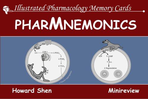 9781595411013: Illustrated Pharmacology Memory Cards: PharMnemonics