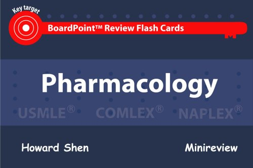 9781595411044: BoardPoint Review Flash Cards: Pharmacology