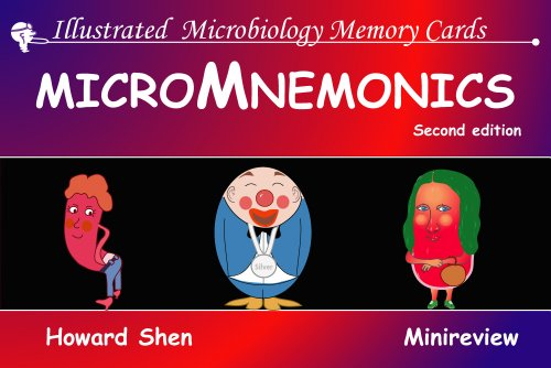 9781595411075: Illustrated Microbiology Memory Cards: MicroMnemonics; 2nd edition (Illustrated Memory Cards)
