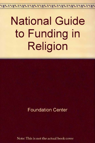 9781595420374: National Guide to Funding in Religion