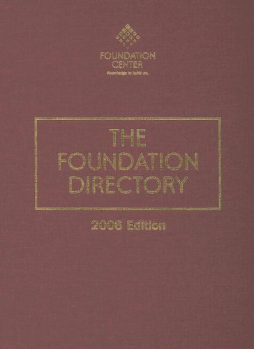 9781595420794: The Foundation Directory 2006
