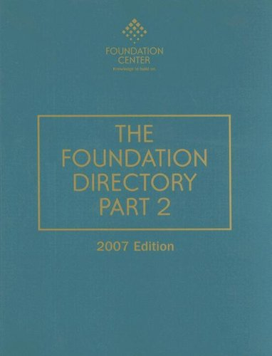 9781595421258: The Foundation Directory Part 2 (FOUNDATION DIRECTORY PART II)