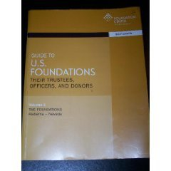 9781595421265: Guide to Us Foundations: Their Trustees, Officers, and Donors (Guide to U.S. Foundations: Their Trustees, Officers, & Donors (2v.))