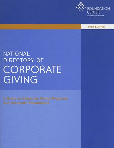 National Directory of Corporate Giving