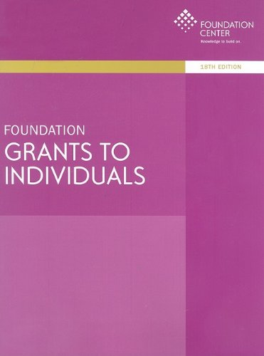 9781595422460: Foundation Grants to Individuals