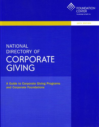 9781595423092: National Directory of Corporate Giving