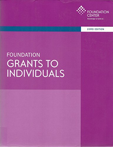 9781595424891: Foundation Grants to Individuals
