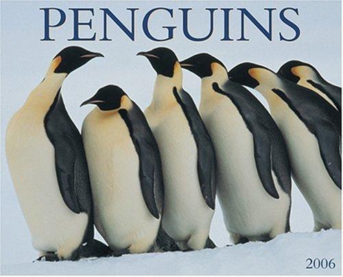 9781595431363: Penguins 2006 16-Month Wall Calendar