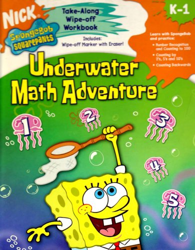 Underwater Math Adventure [With Marker] (Nick Spongebob: Horizons, Learning