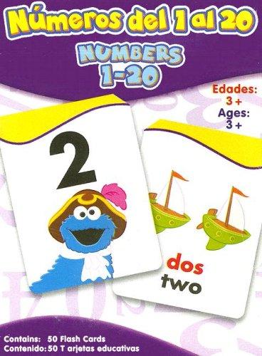 9781595450616: Numeros Del 1 Al 20/ Numbers 1-20 (Sesame Street) (Spanish Edition) (Spanish and English Edition)