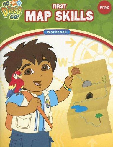 9781595451101: First Map Skills: Prek (Go Diego Go!)