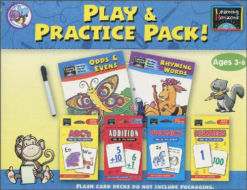 9781595452986: Learning Horizons Play and Practice Pack (2008, Cards,Flash Cards)