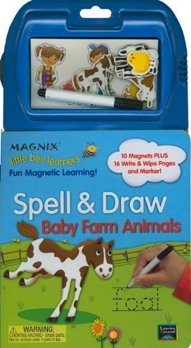 9781595455369: Little Bee Learners: Spell & Draw - Baby Farm Animals (Magnix Little Bee Learners: Spell & Draw)